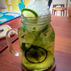 Non-alcoholic Mojito, Banana Tree, Singapore, Wedded and Wandering