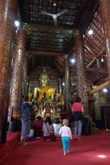 Laos Inside Temple