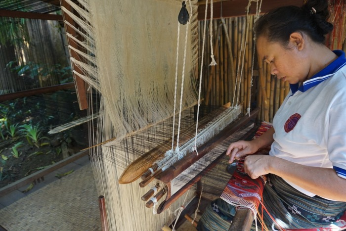 Laos Weaving